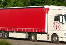 شاحنة مخصصة لنقل الاثاث و العفش