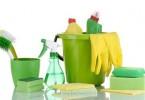 مواد تنظيف في شركة تنظيف برماح